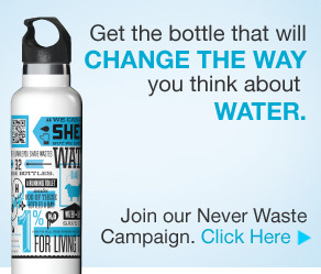 join our Never Waste campaign